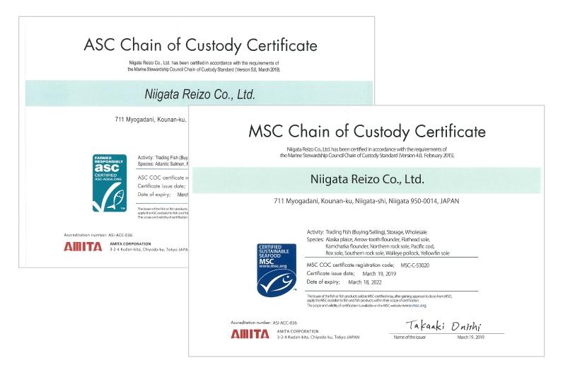 MSC-CoCとASC-CoC