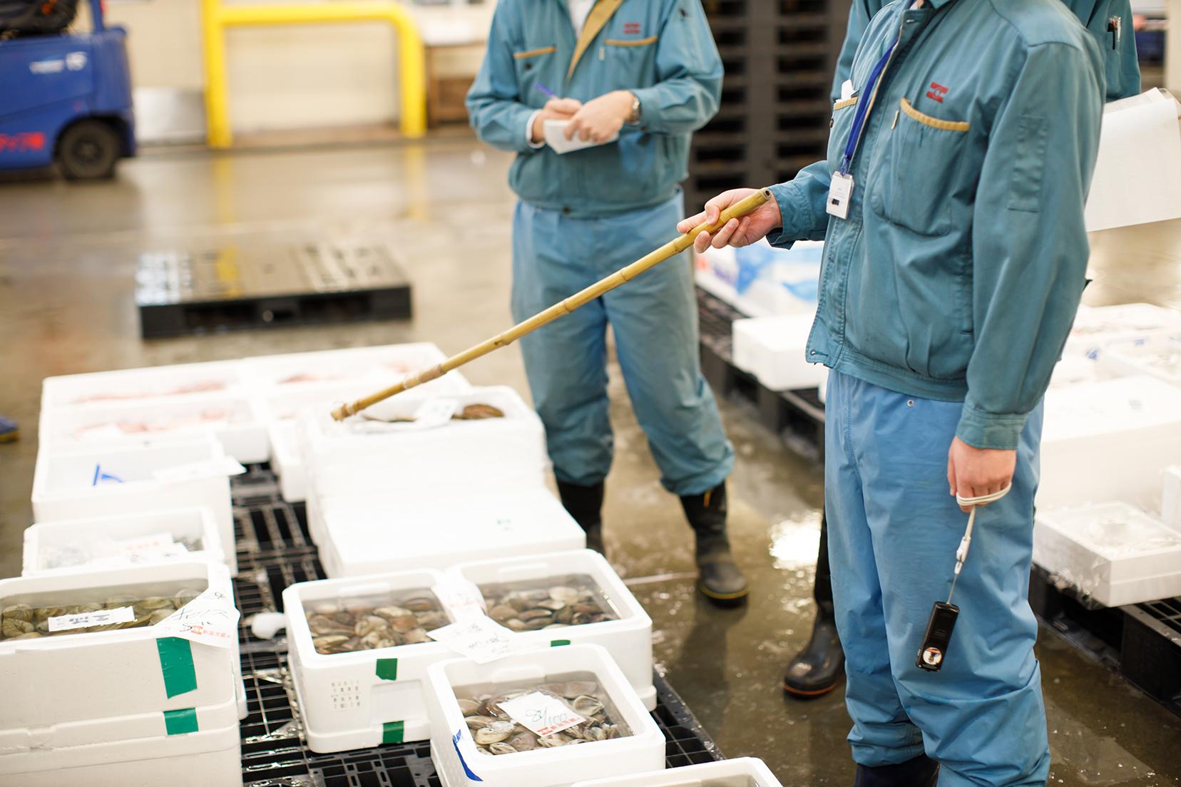 鮮魚部の紹介画像